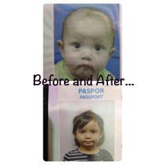 Foto Paspor Marissa
