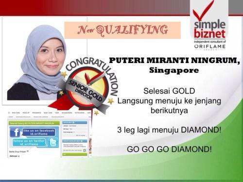 Qualifying Senior Gold Director